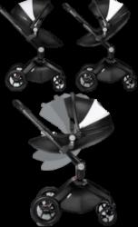 360° Prams, Highly Flexible 2 in 1 Pram