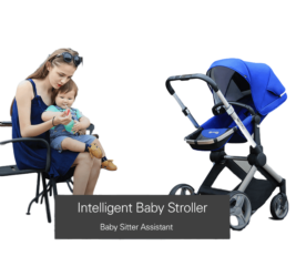 Intelligent Pram, keep track of baby weight