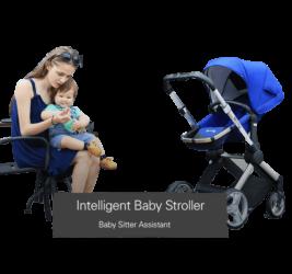 Intelligent Pram, keep track of baby weight