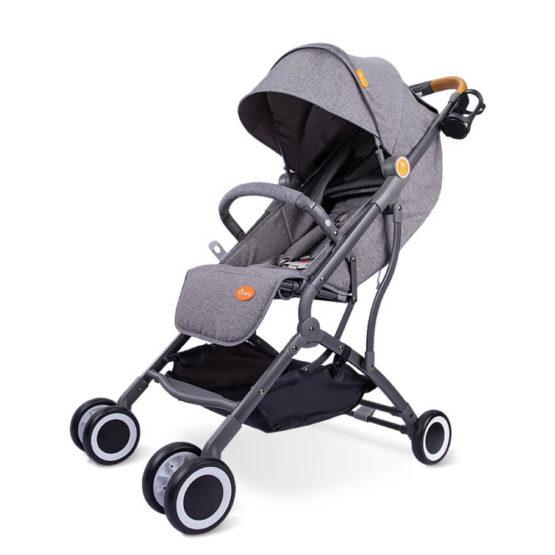 Tumama® Travel Baby Pram – Grey