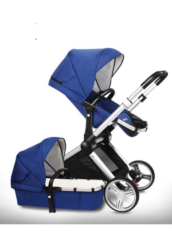 Pomelos® Intelligent Baby Pram – 2 in 1 Bassinet + Pram Set