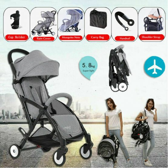 Foldable carrycot, light weight with raincover