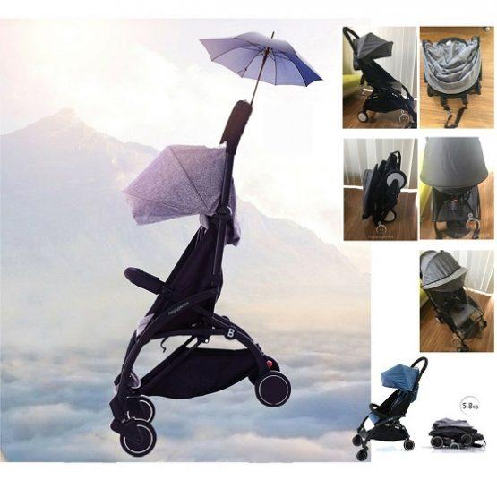 New feather light baby stroller pram