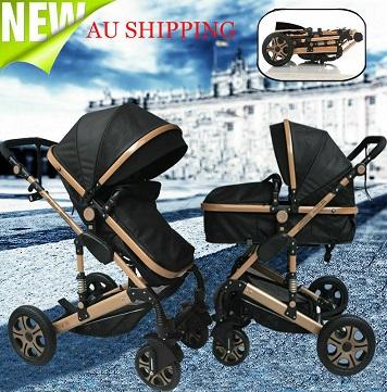 All season 9 in 1 new born carriage cum stroller