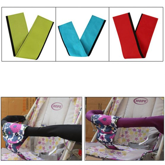 Cloth handle cover for strollers