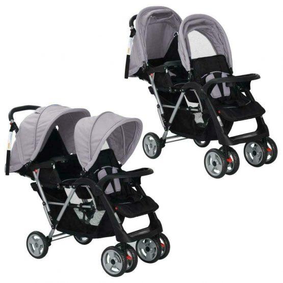 Tandem stroller prams for 2 kids 6 to 36 months