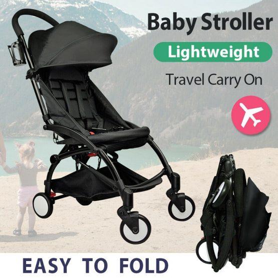 Compact baby stroller, light weight