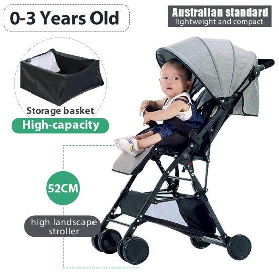 High quality, light weight baby stroller foldable