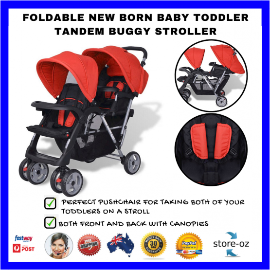 Double stroller for kids 15kgs and under