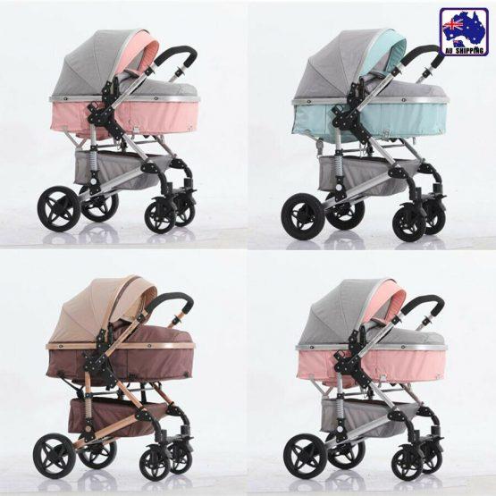 Newborn baby pram, 2 way stroller