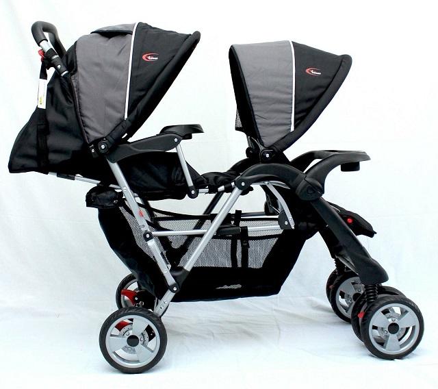 Double pram stroller for twins/2 kids - Baby Prams Austtralia