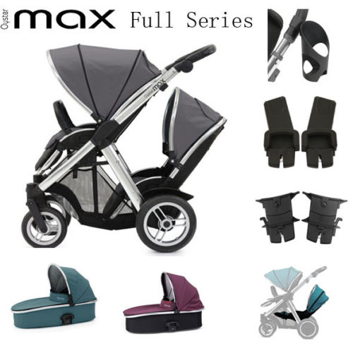 Reversible Double stroller with multiple combinations