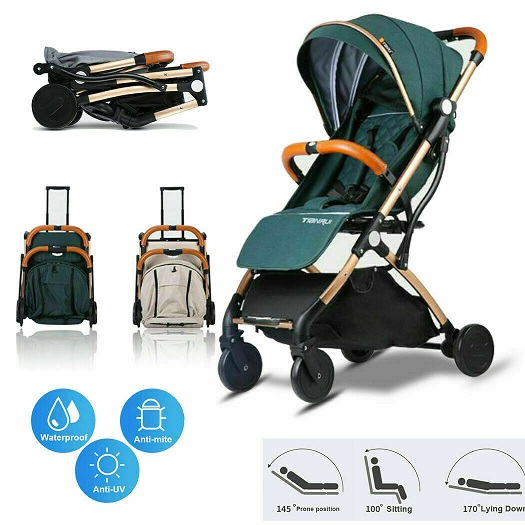 Light weight compact baby stroller pram